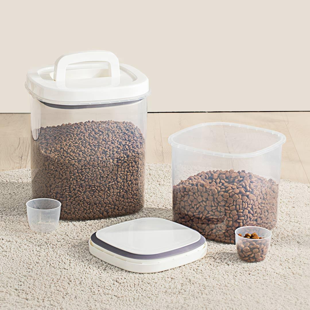 Jordan&Judy S/L Cereal & Dry Sealed Jar Kitchen Plastic Grain Boxes Tanks Food Storage Container Rice Snacks Sugar Stora