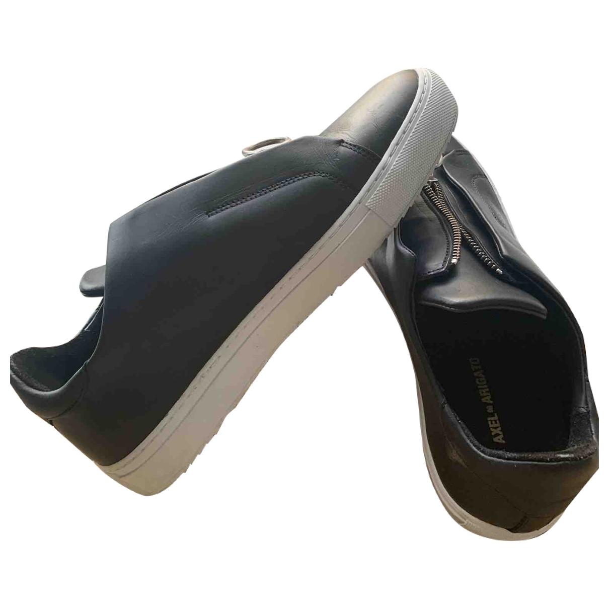 Axel Arigato - Baskets   pour femme en cuir - noir