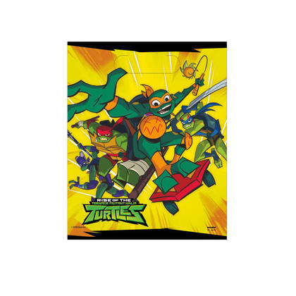Rise of the TMNT Loot Bags, 8ct For Birthday Party