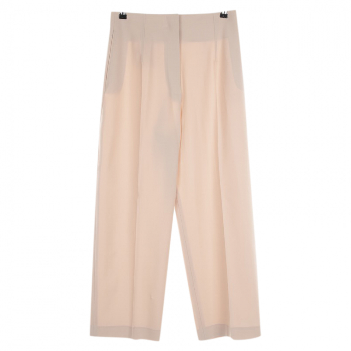 Jacquemus \N Beige Wool Trousers for Women 38 FR
