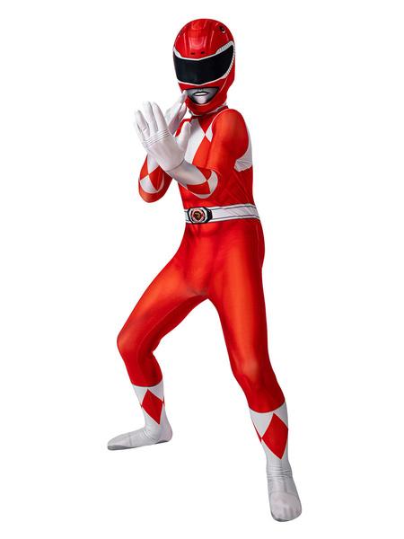 Milanoo Kyoryu Sentai Zyuranger Geki Cosplay Costume Kids Cosplay Tights