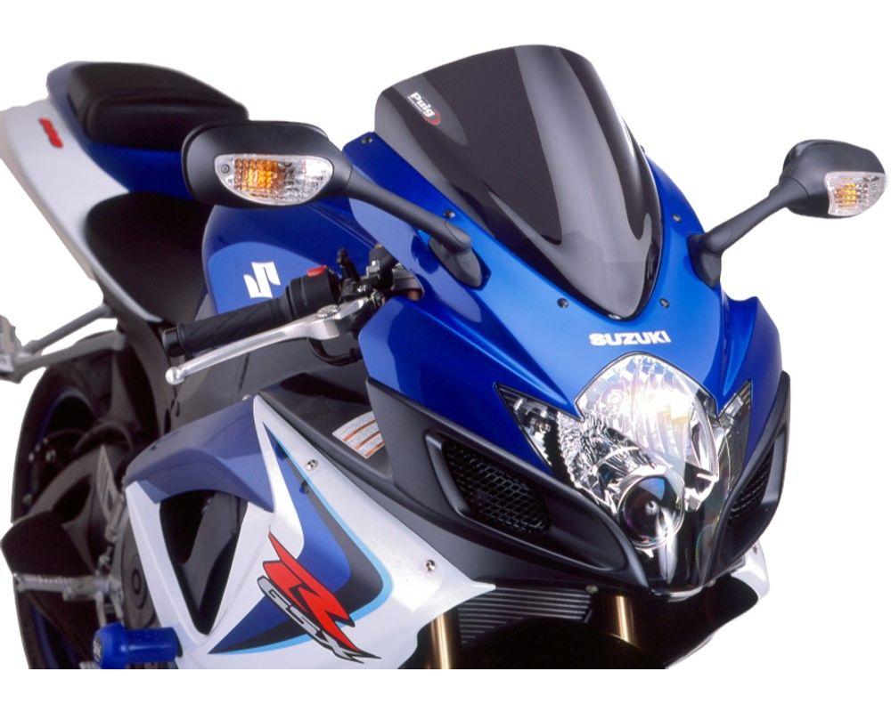 Puig 4055F Racing Windscreen - Dark Smoke Suzuki GSX-R600 2006