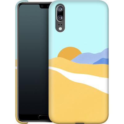 Huawei P20 Smartphone Huelle - Sunset Beach von Lucy Bohr