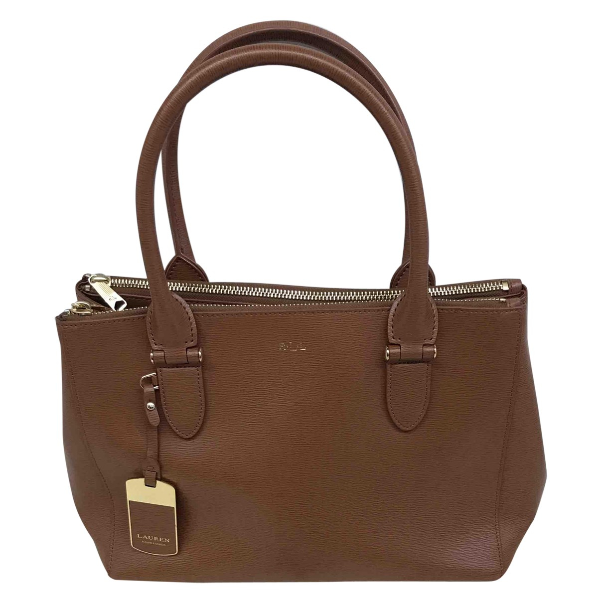 Ralph Lauren \N Brown Leather handbag for Women \N