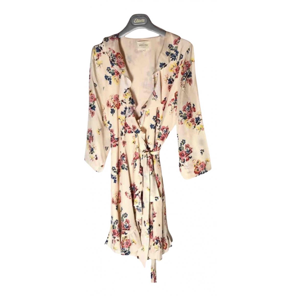 Sezane Spring Summer 2020 Kleid in  Beige Polyester