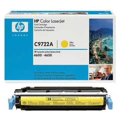 HP 641A C9722A cartouche de toner originale jaune