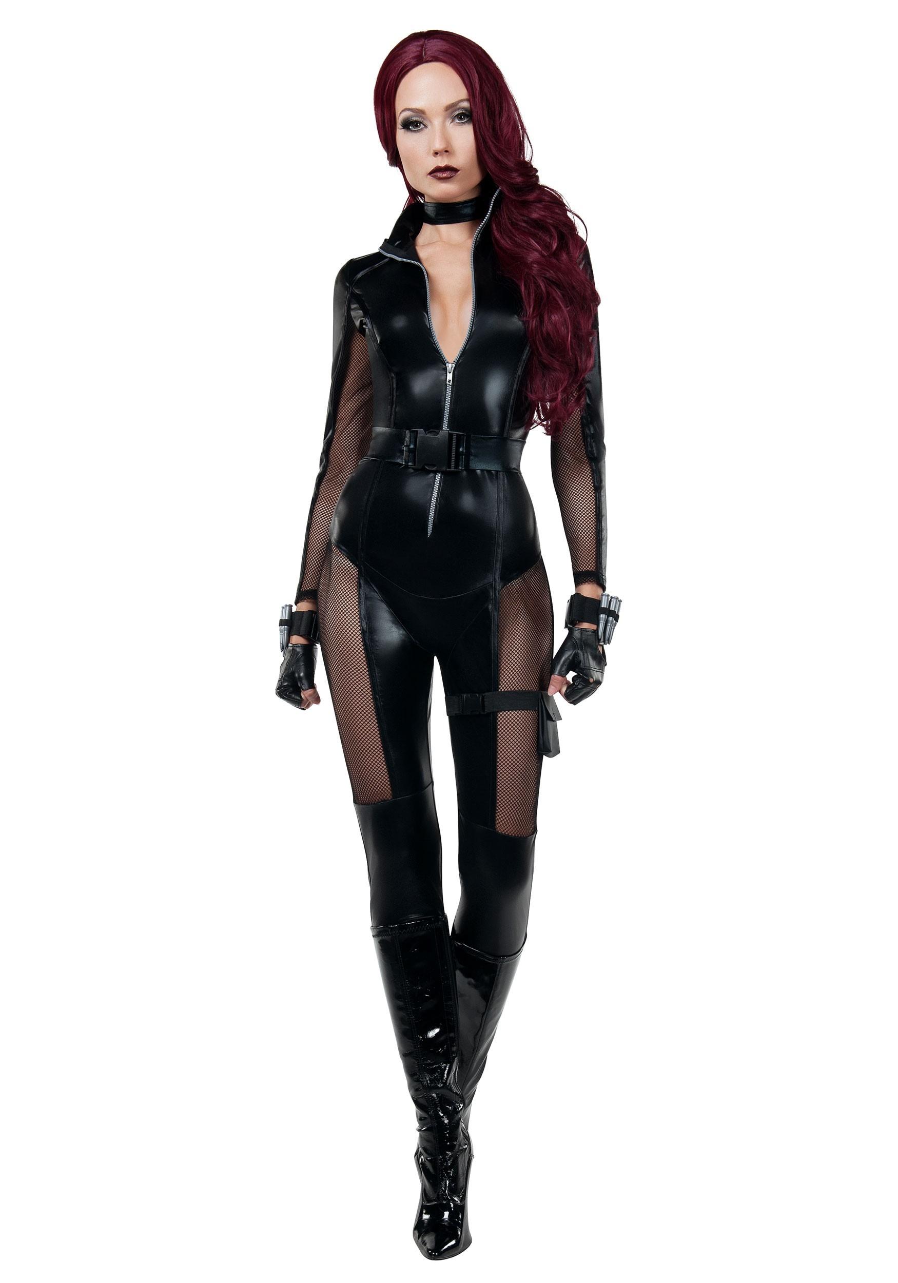 Avenging Assassin Costume for Women