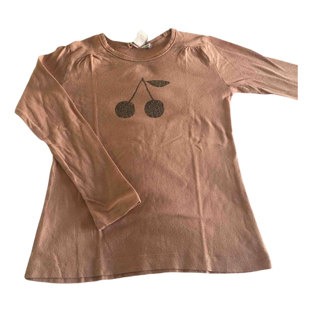 Bonpoint N Pink Cotton  top for Kids 6 years - up to 114cm FR