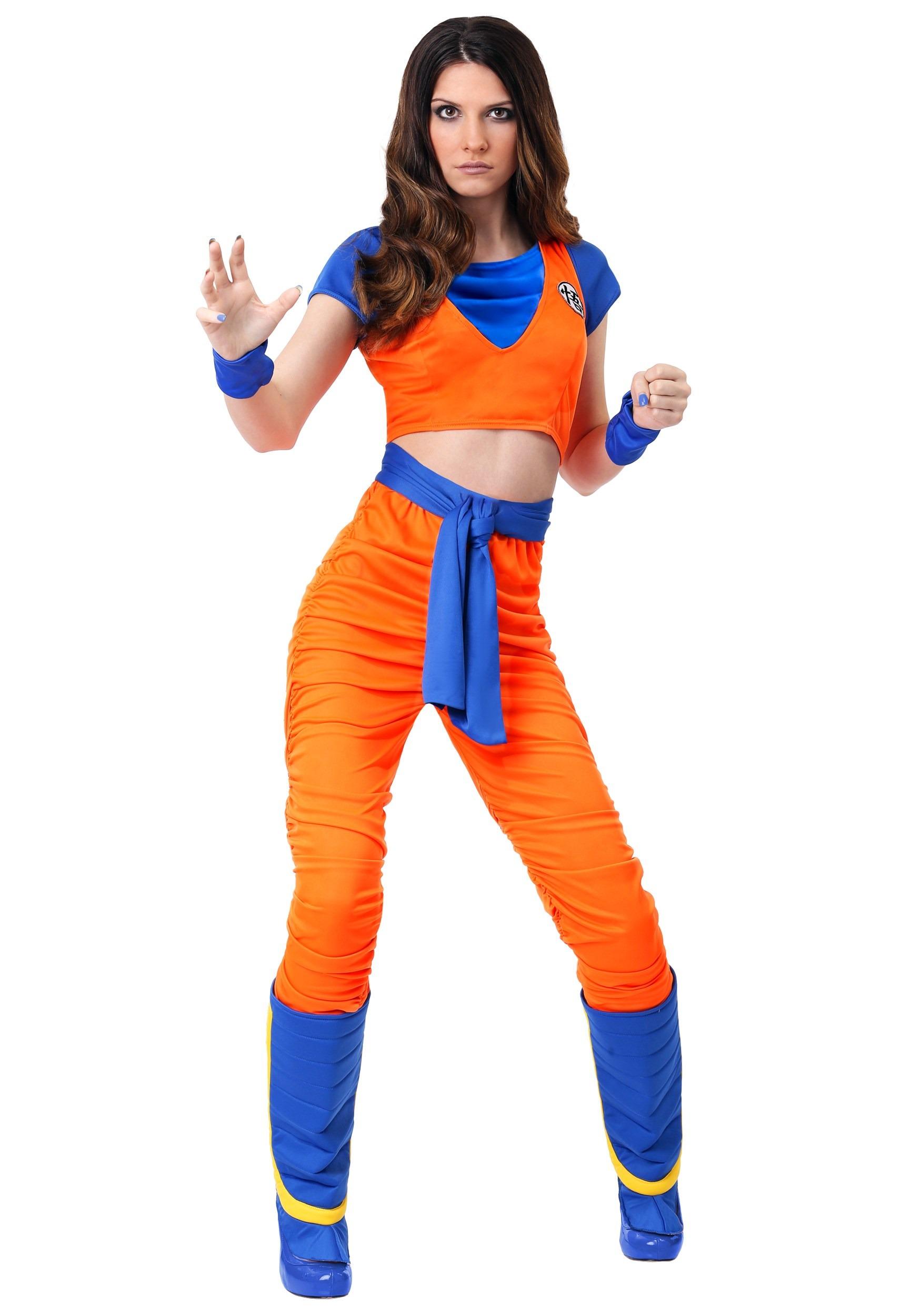 Women's Goku Costume