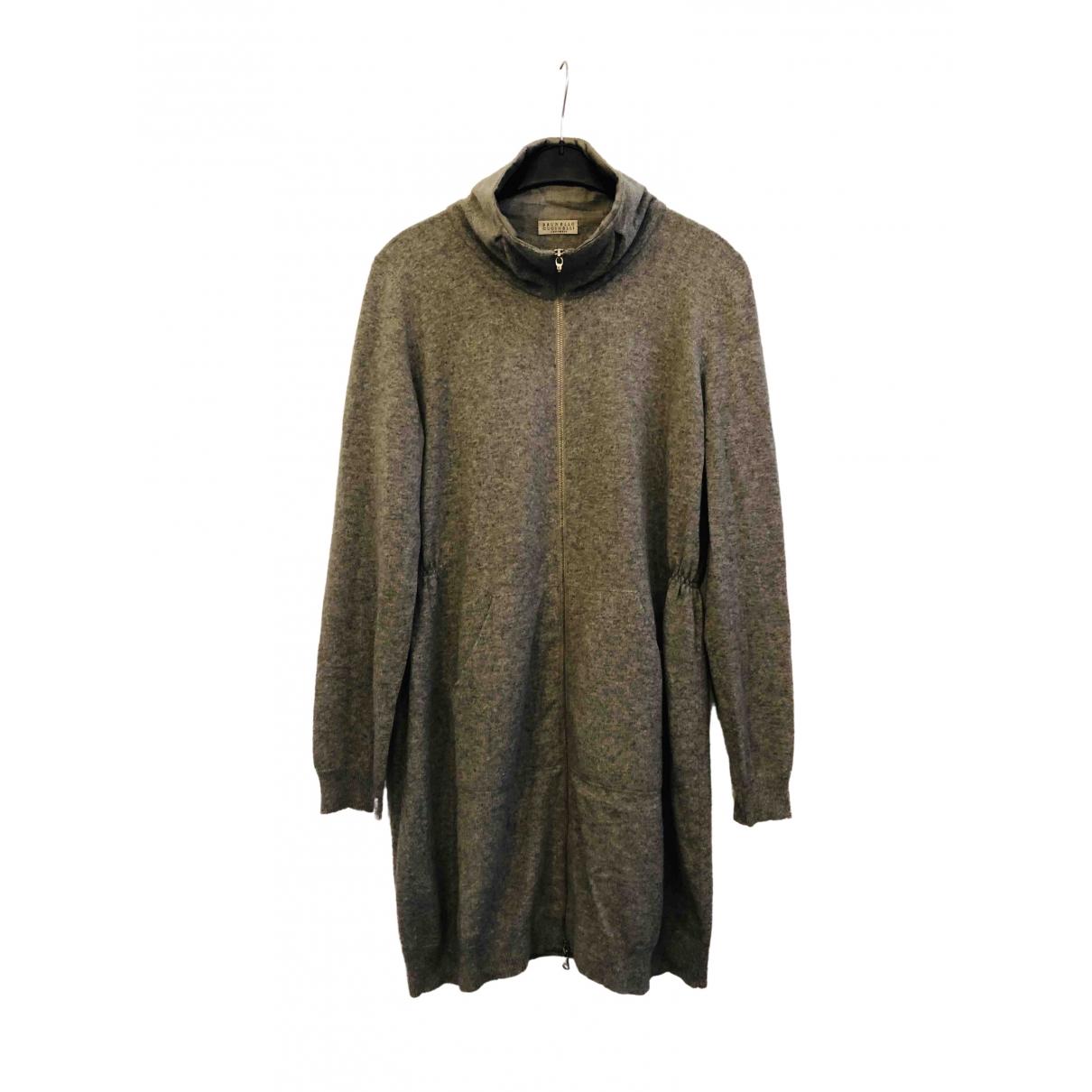 Brunello Cucinelli \N Grey Cashmere Knitwear for Women XXL International