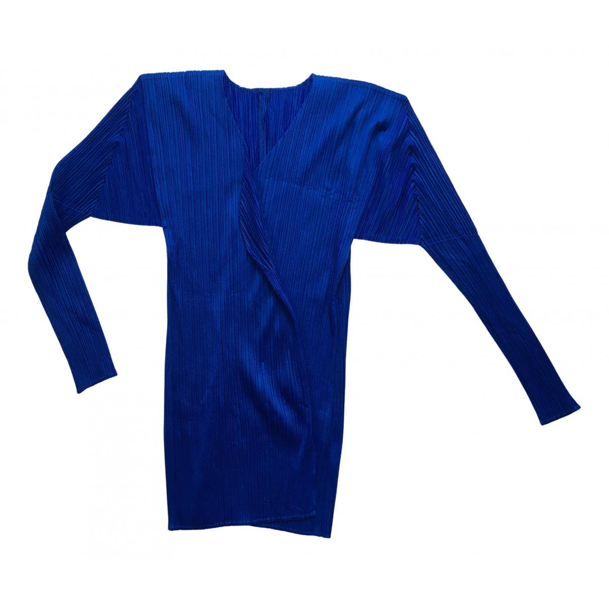 Pleats Please N Blue jacket for Women 4 0-5