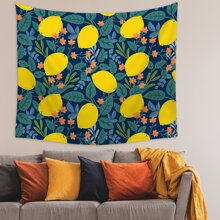 Lemon Print Tapestry