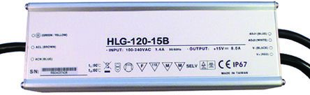 Mean Well Constant Current LED Driver 122.4W 36V