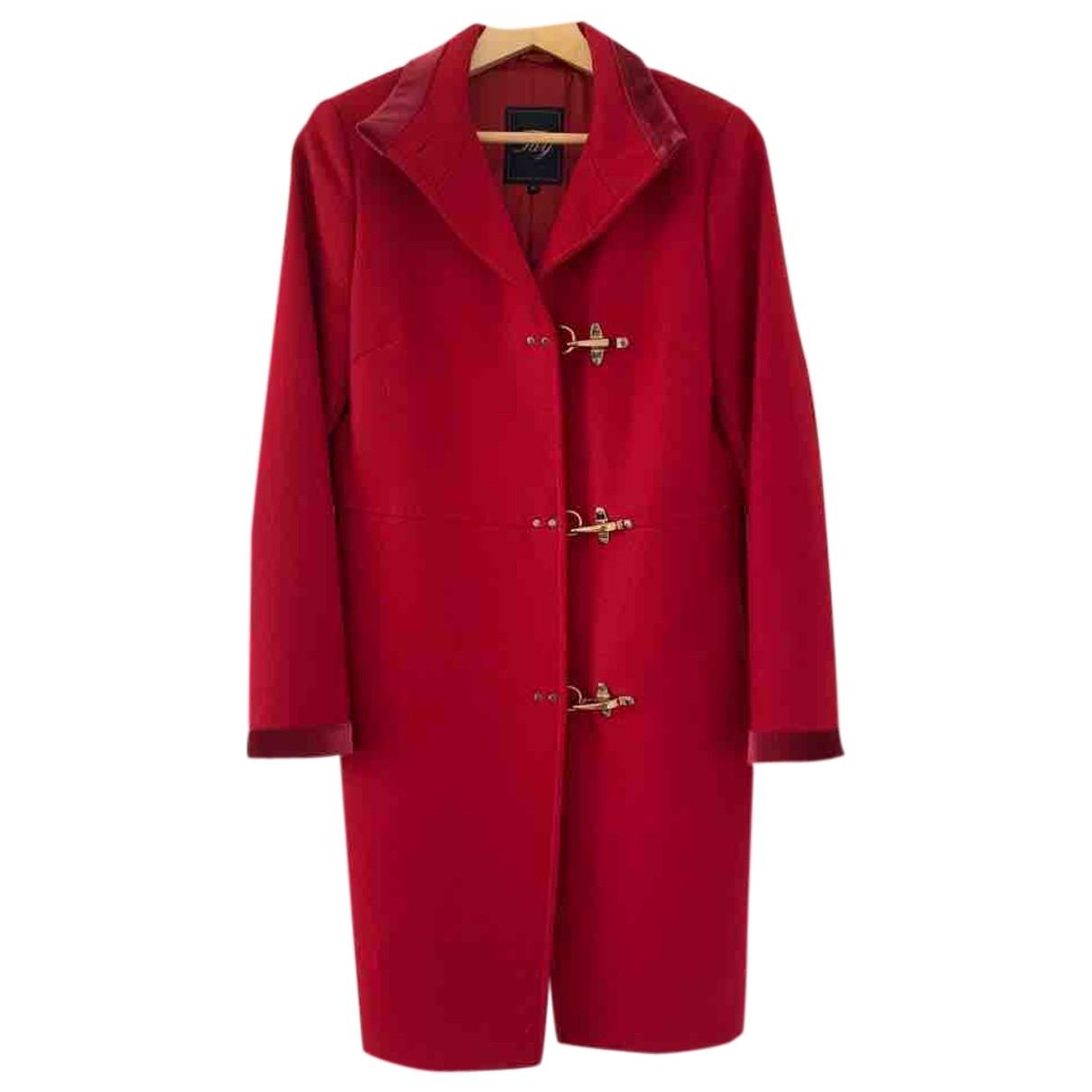 Fay \N Red Wool coat for Women L International