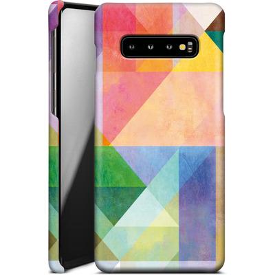 Samsung Galaxy S10 Plus Smartphone Huelle - Color Blocking 1 von Mareike Bohmer