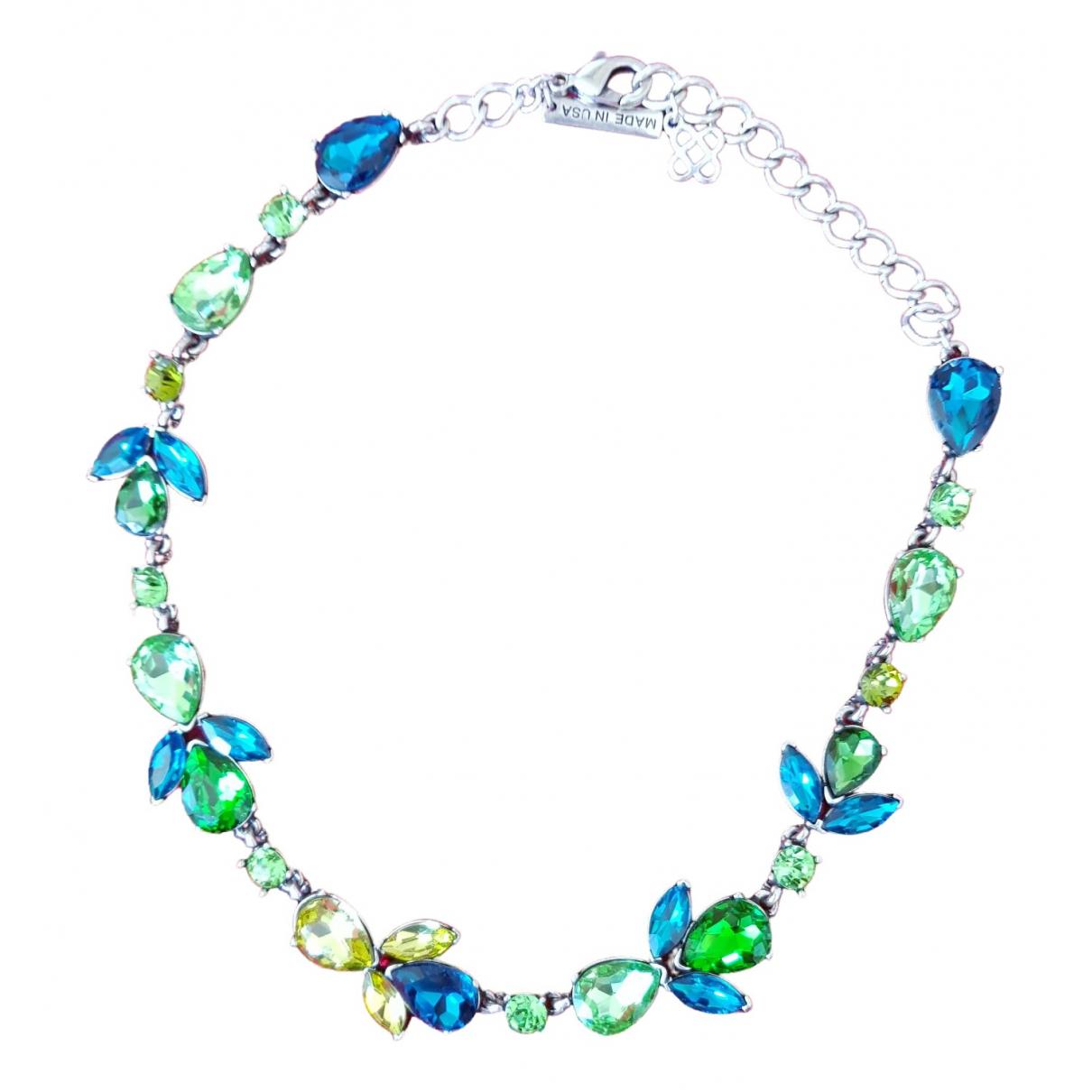 Oscar De La Renta \N Blue Crystal necklace for Women \N