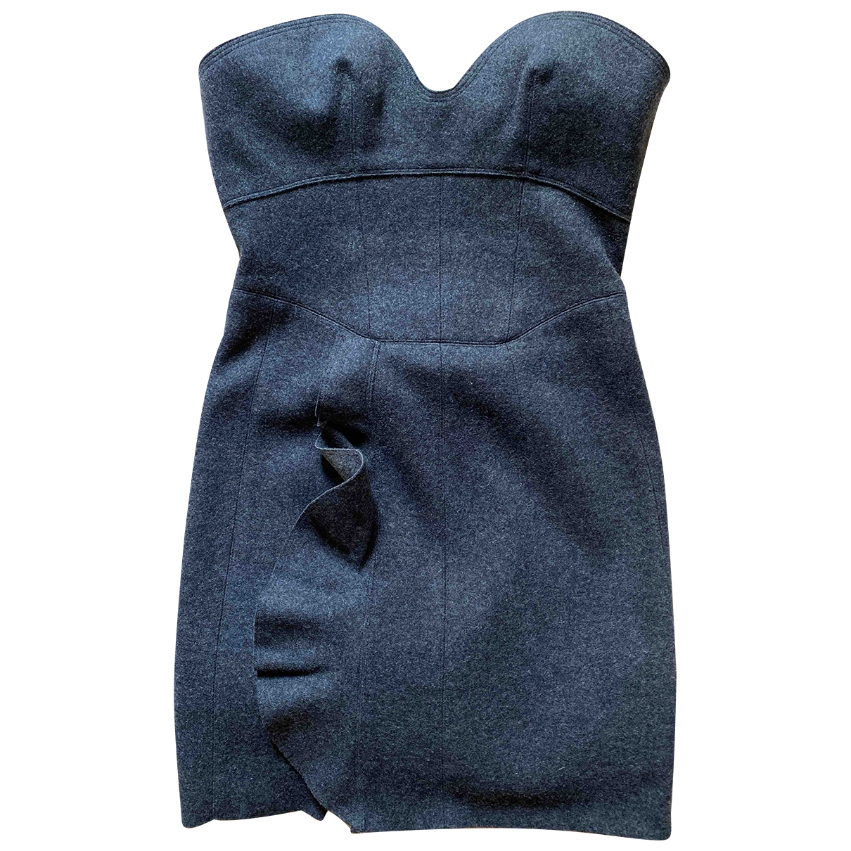 Isabel Marant \N Grey Wool dress for Women 36 IT