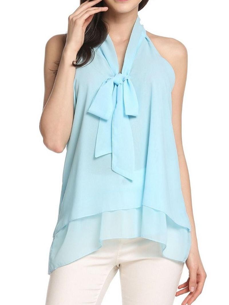Ericdress Asymmetric Summer Mid-Length Fashion Tank Top