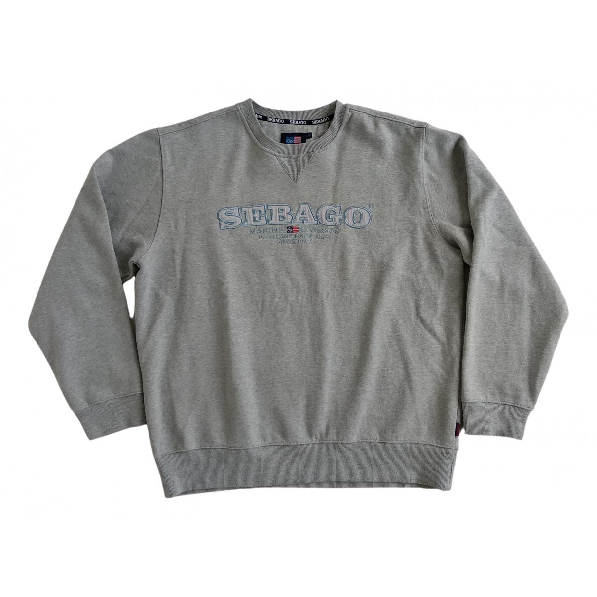 Sebago - Pulls.Gilets.Sweats   pour homme en coton - gris