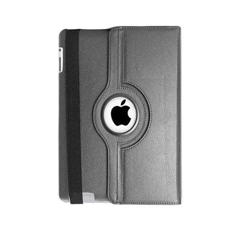 Natico Faux Leather 360° Degree Rotating Case for iPad Mini, One Size , Black
