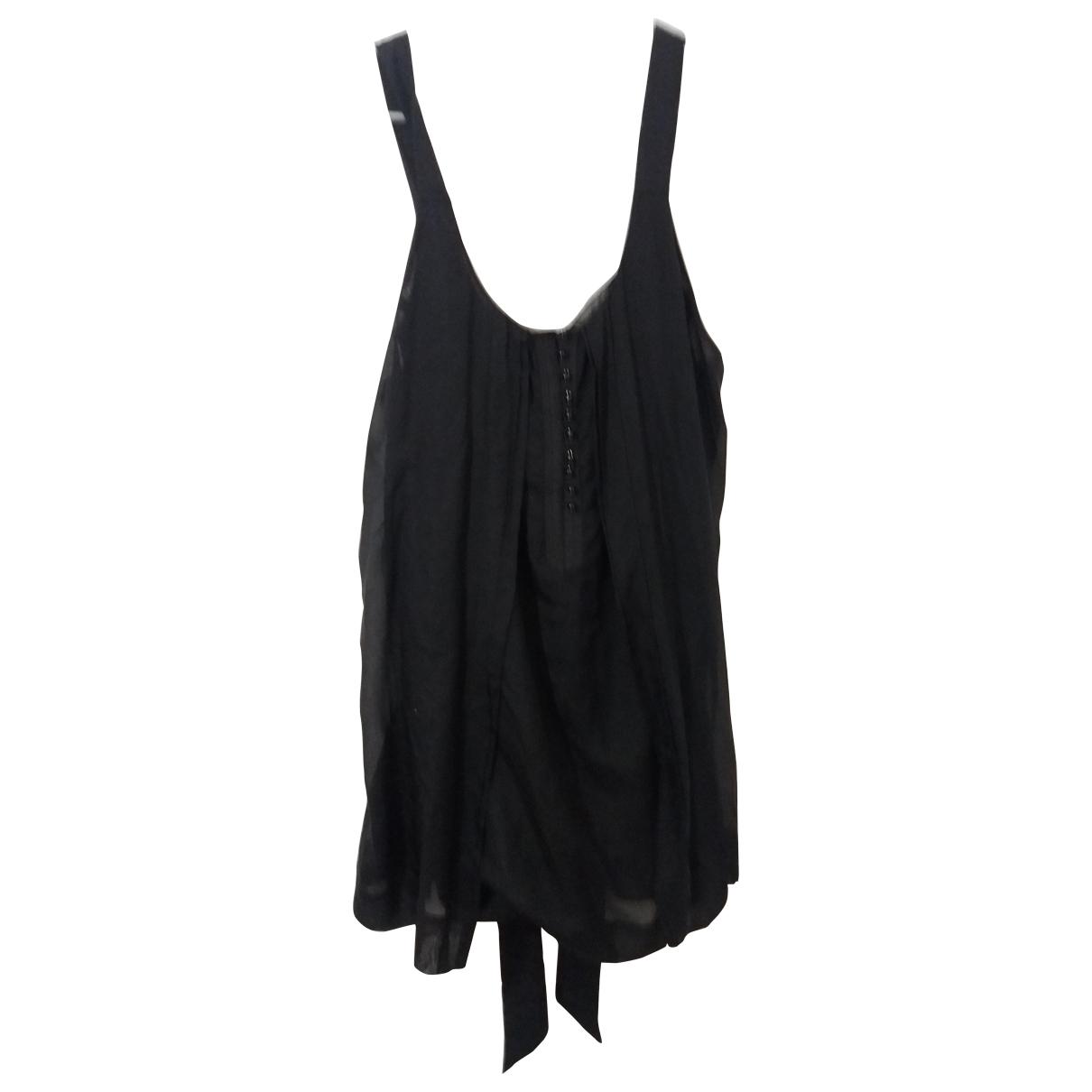 Armani Jeans \N Kleid in  Schwarz Baumwolle