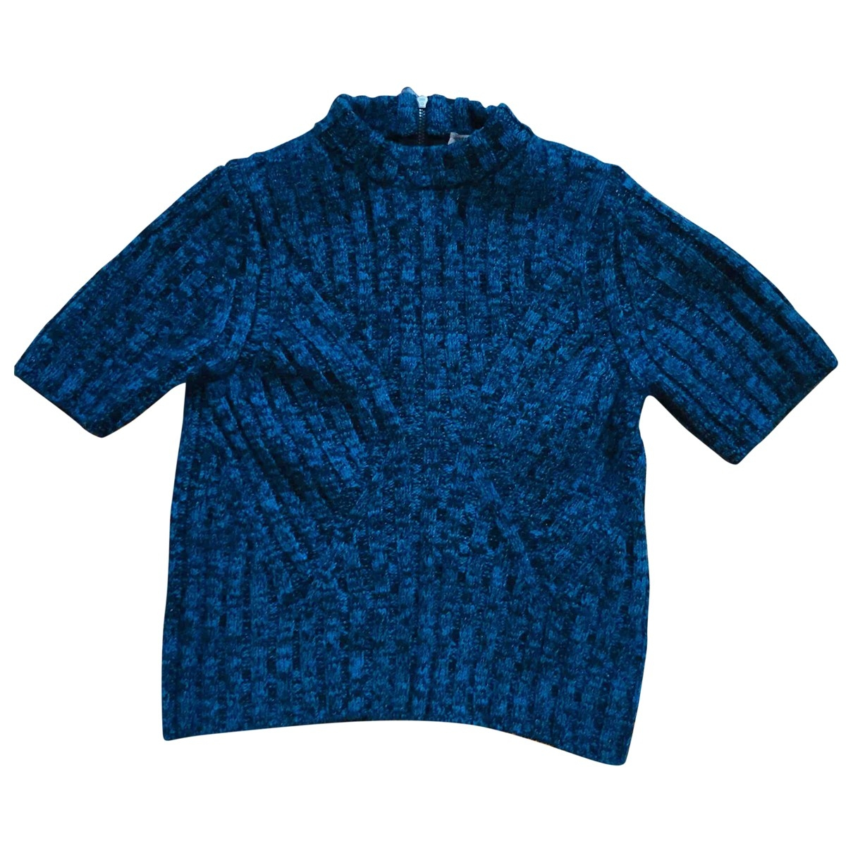 Bottega Veneta \N Top in  Blau Wolle