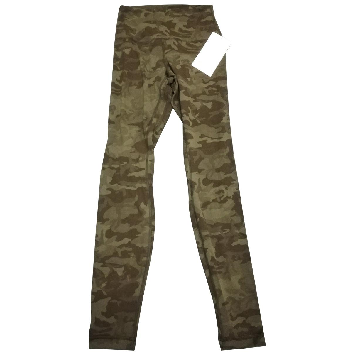 Lululemon \N Black Trousers for Women 6 US