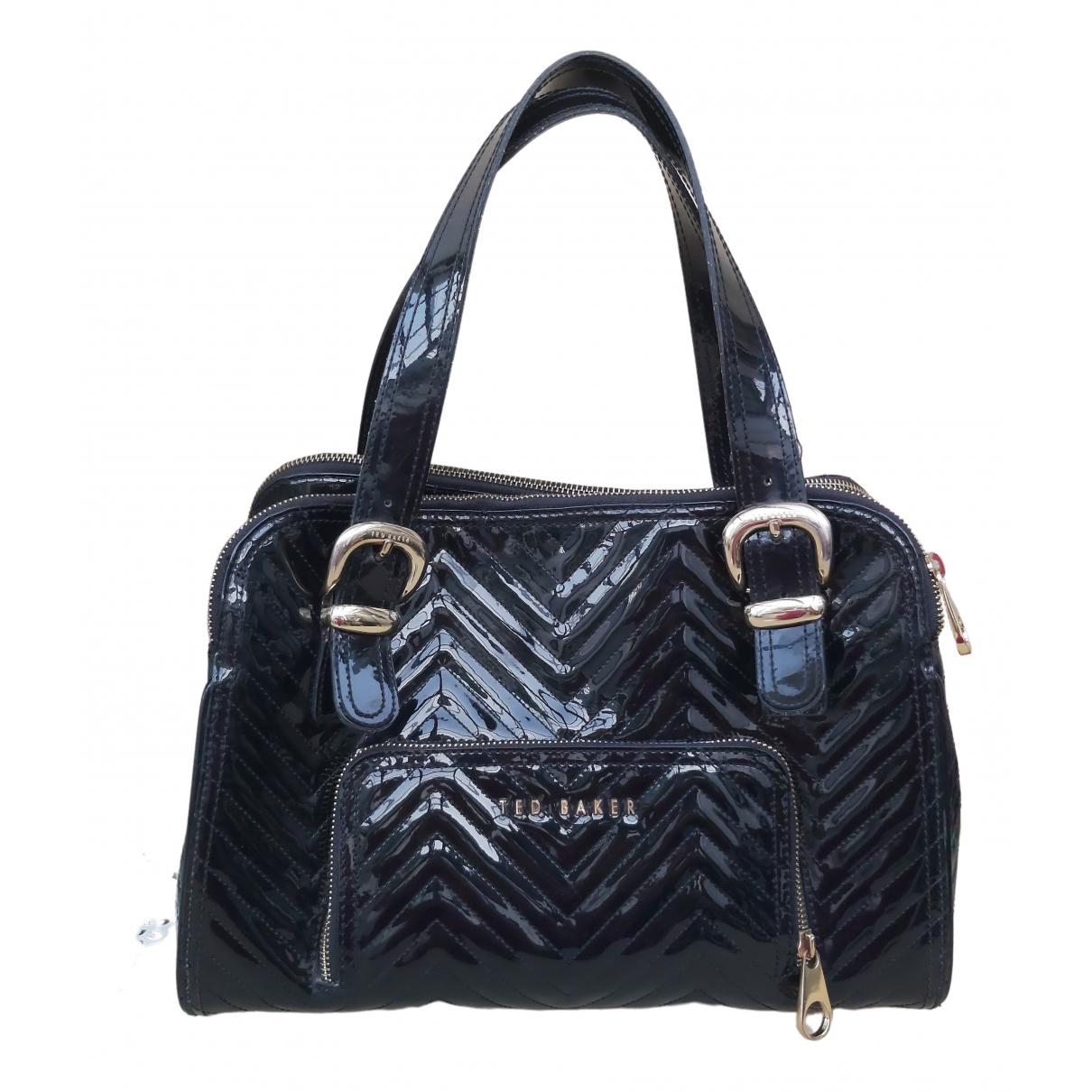 Ted Baker \N Black Patent leather handbag for Women \N