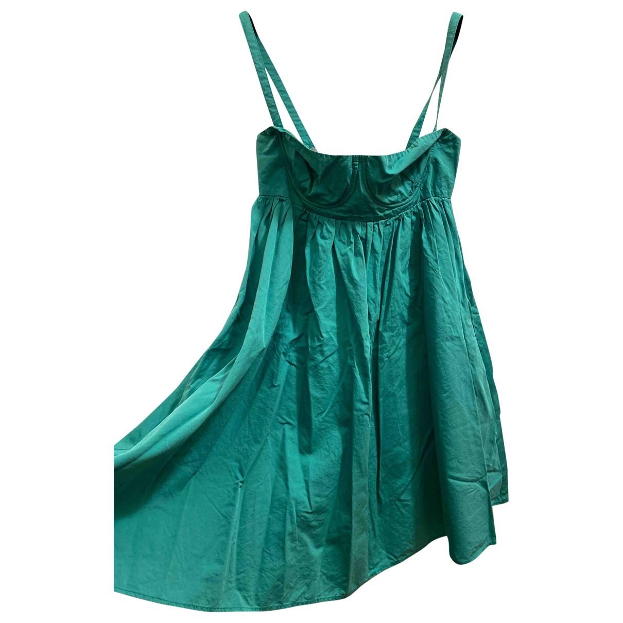 See By Chloe - Robe   pour femme en coton - vert