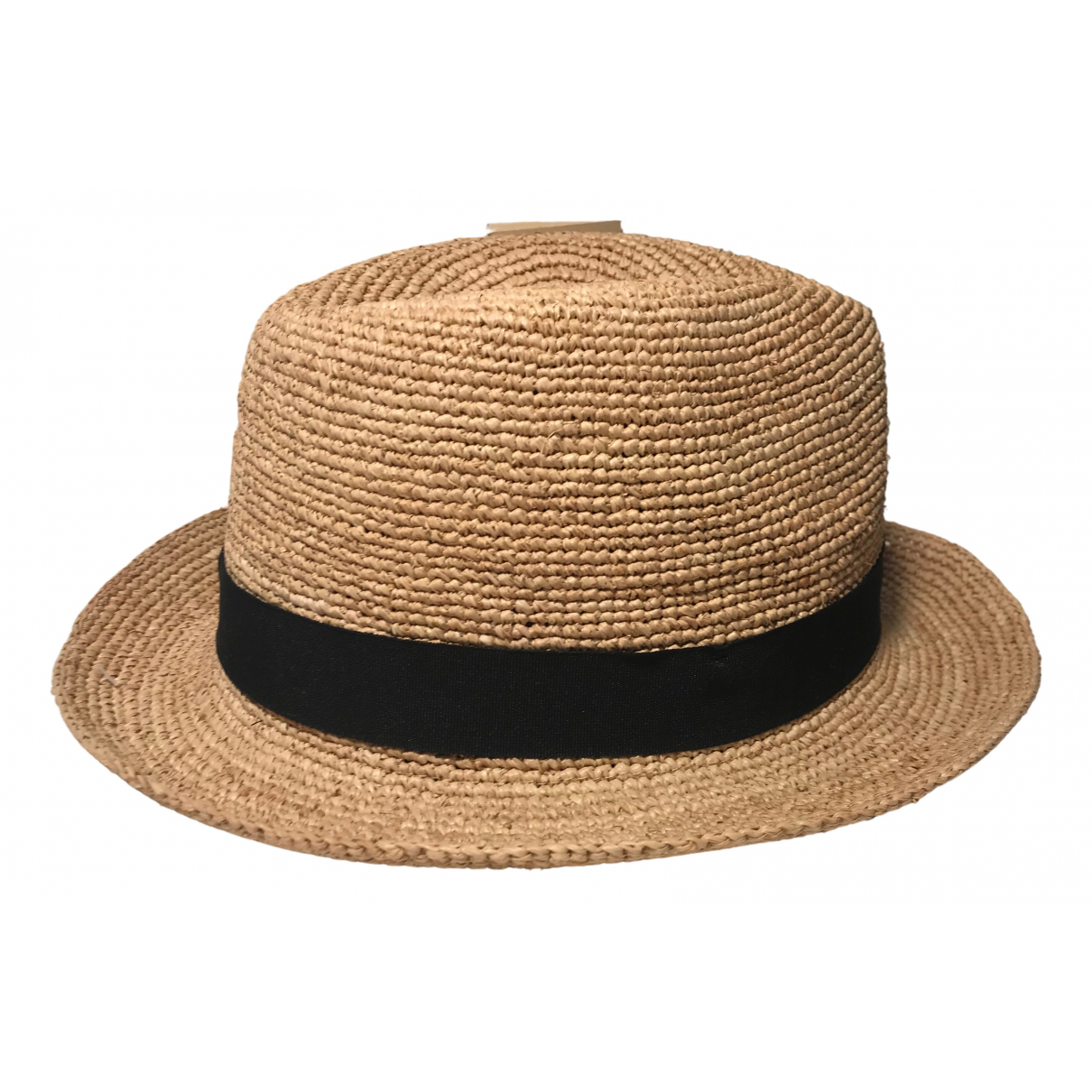 Non Signé / Unsigned \N Beige hat for Women 55 cm