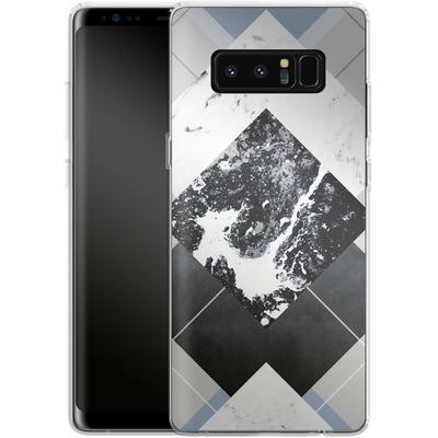 Samsung Galaxy Note 8 Silikon Handyhuelle - Geometric Textures 5 von Mareike Bohmer
