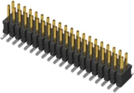 Samtec , FTSH, 10 Way, 2 Row, Vertical Header (92)