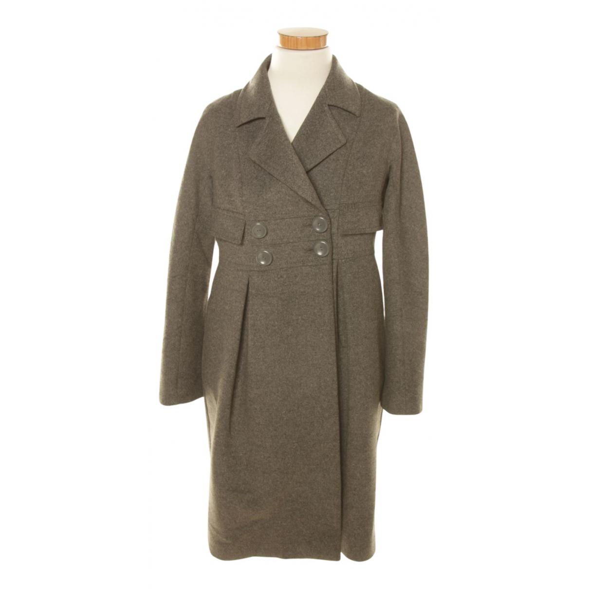 Stefanel N Grey Cotton coat for Women M International
