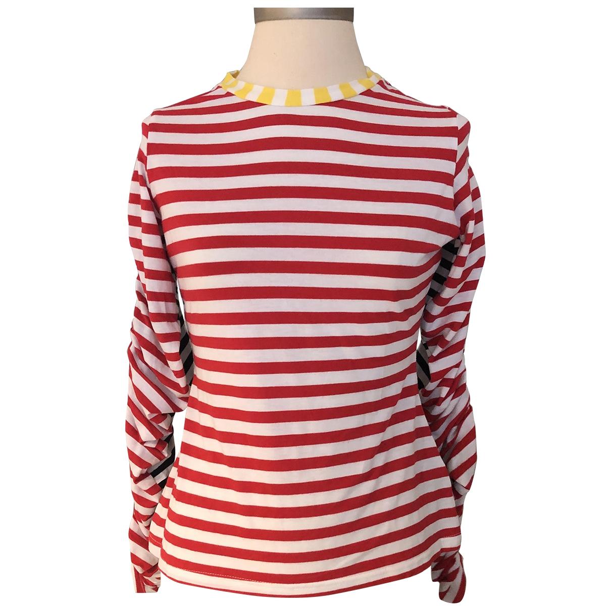 Preen - Top   pour femme en coton - multicolore
