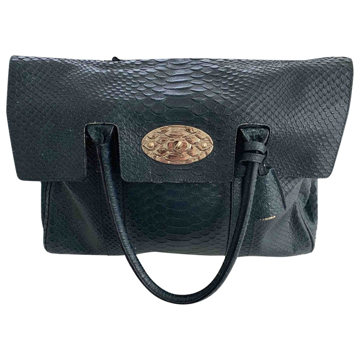 Mulberry Bayswater Green Exotic leathers handbag for Women \N
