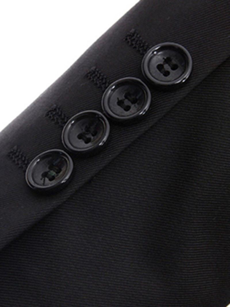 Ericdress Solid Color Slim Three-Piece of Men's Casual Suit