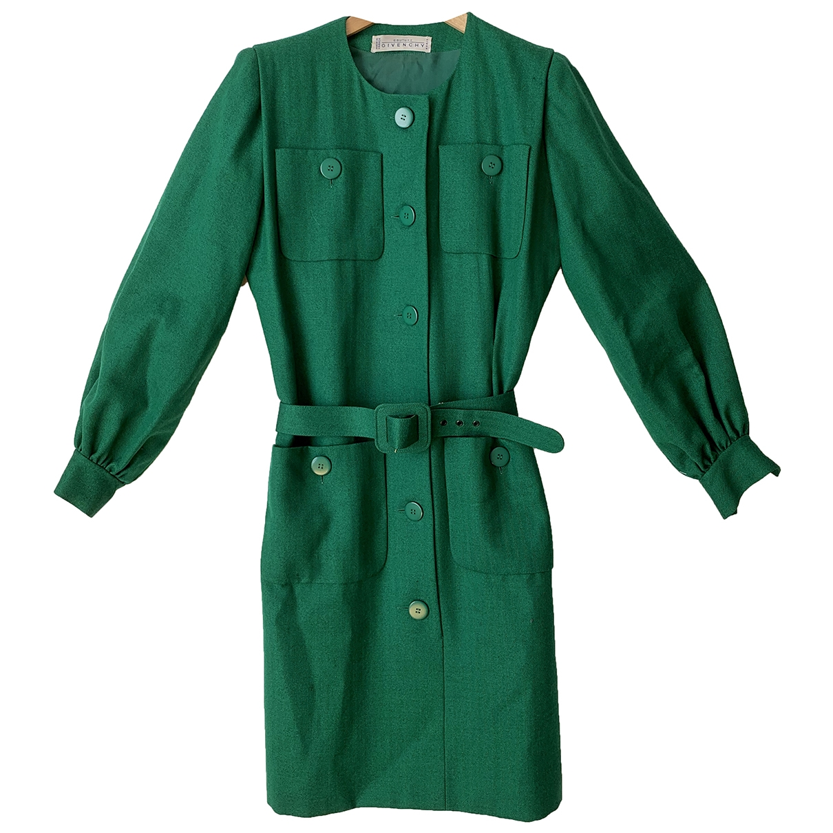 Givenchy \N Green Wool dress for Women 42 FR