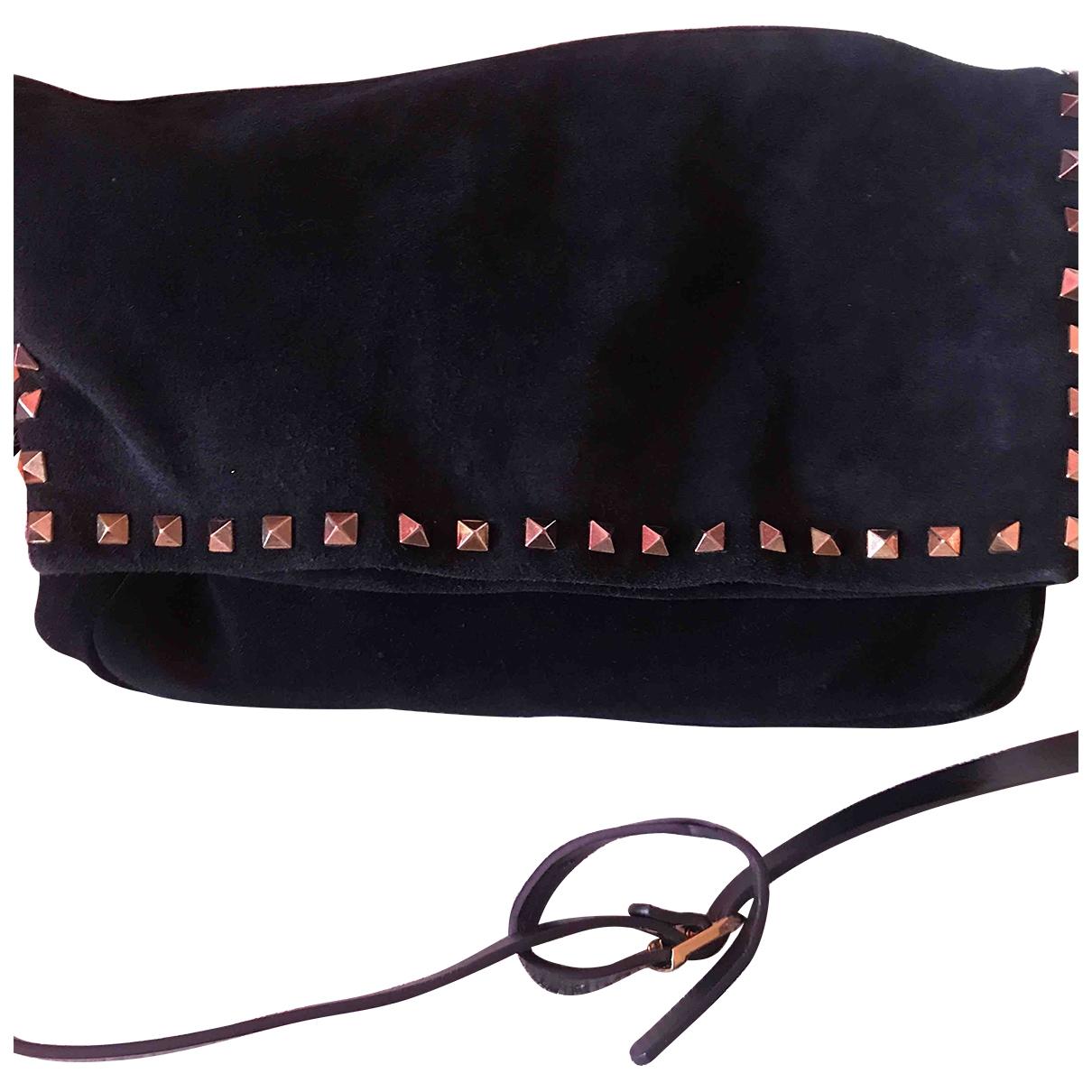 Zara \N Black Suede handbag for Women \N