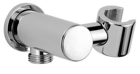 85910-81 Solid Brass Shower Wall Union with Hand Shower Holder  Designer Brushed Nickel