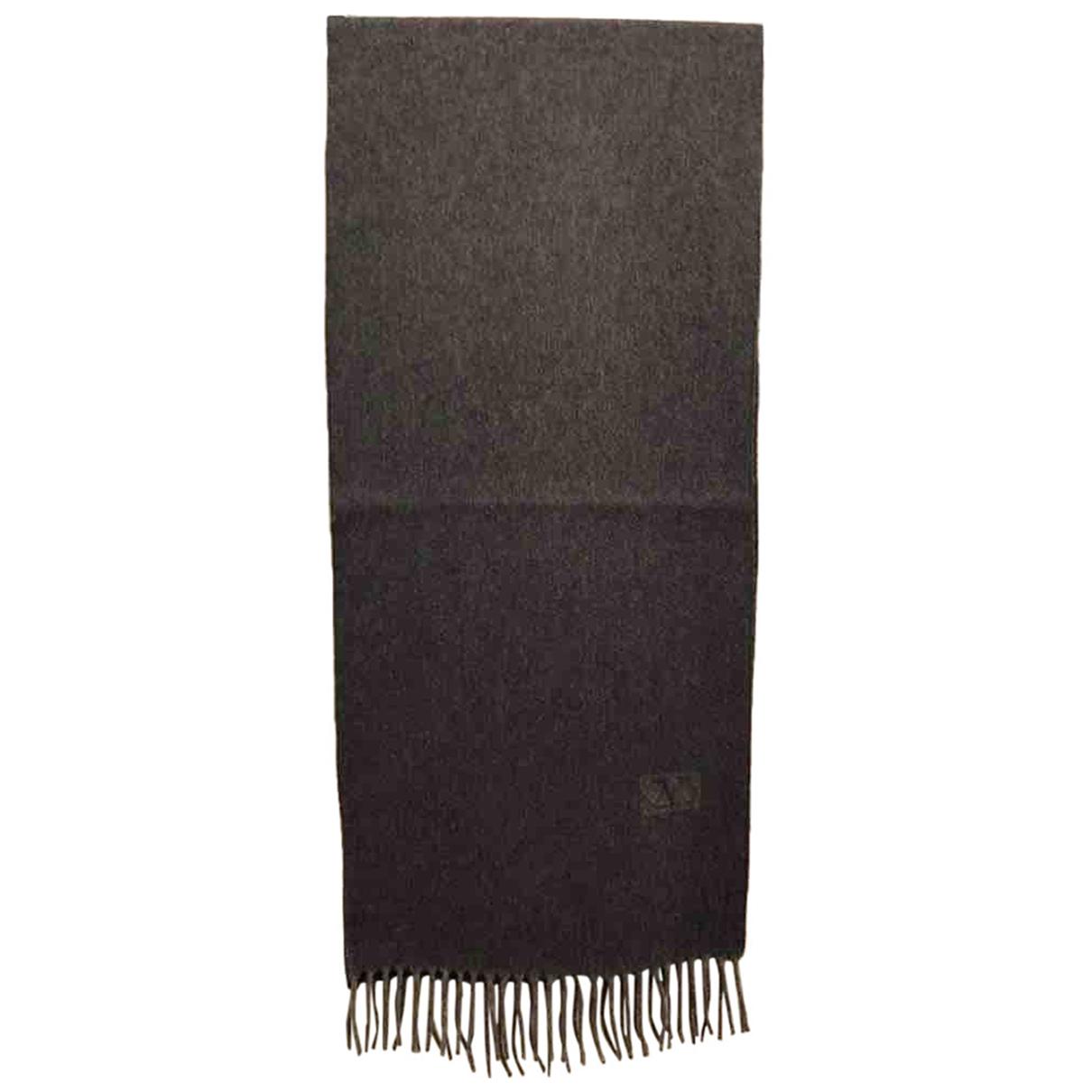 Valentino Garavani N Grey Cashmere scarf & pocket squares for Men N