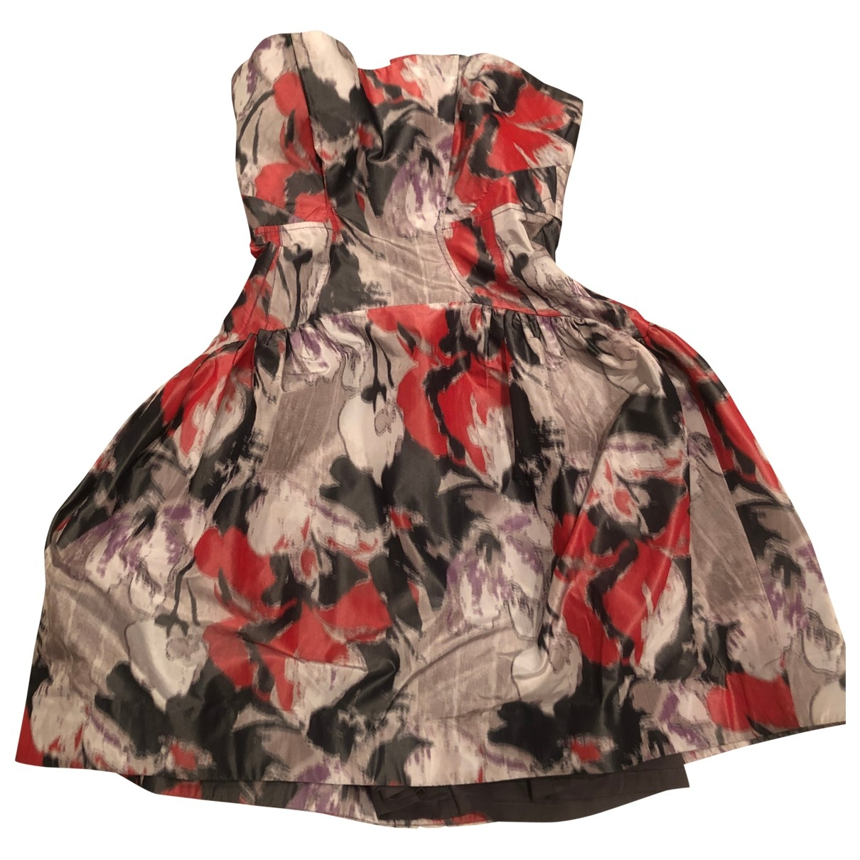 Mini vestido de Seda Zac Posen
