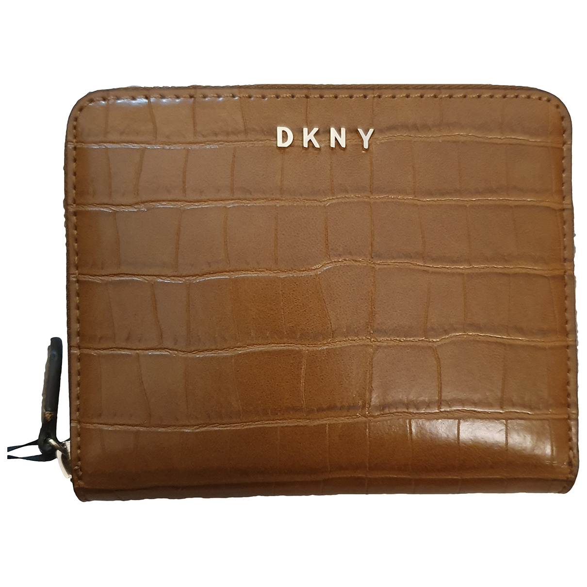 Dkny N Brown Leather Purses, wallet & cases for Women N