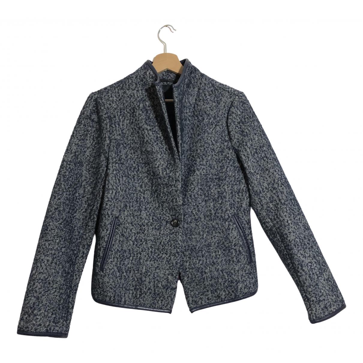 Silvian Heach \N Blue Wool jacket for Women 36 FR