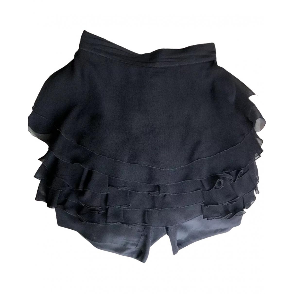 Gianni Versace - Jupe   pour femme en soie - noir