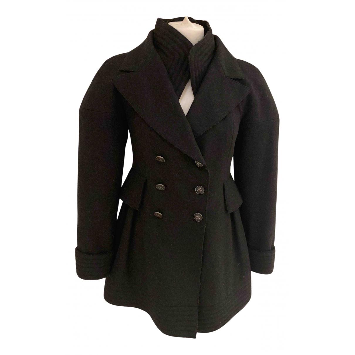 Chanel N Grey Cashmere jacket for Women 38 FR