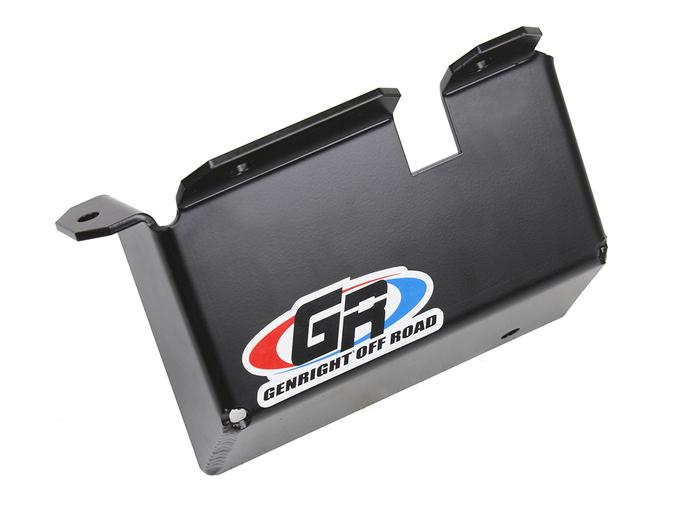 Jeep Skid Plate Steering Box 87-95 Wrangler YJ Front Steel Black GenRight