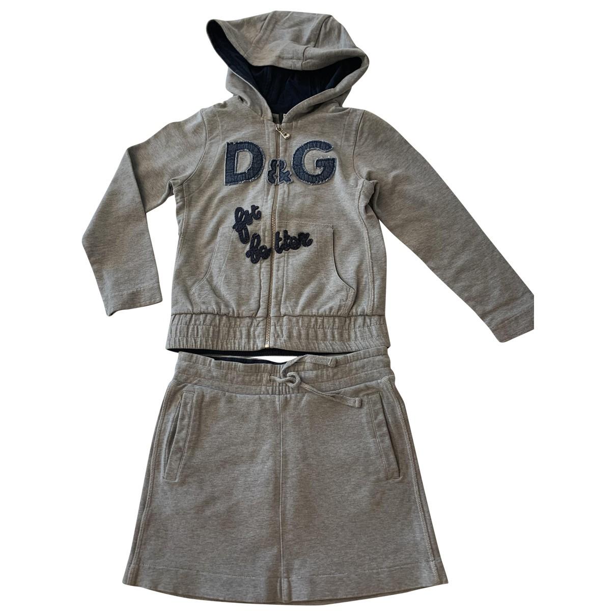 D&g - Les ensembles   pour enfant en coton - gris