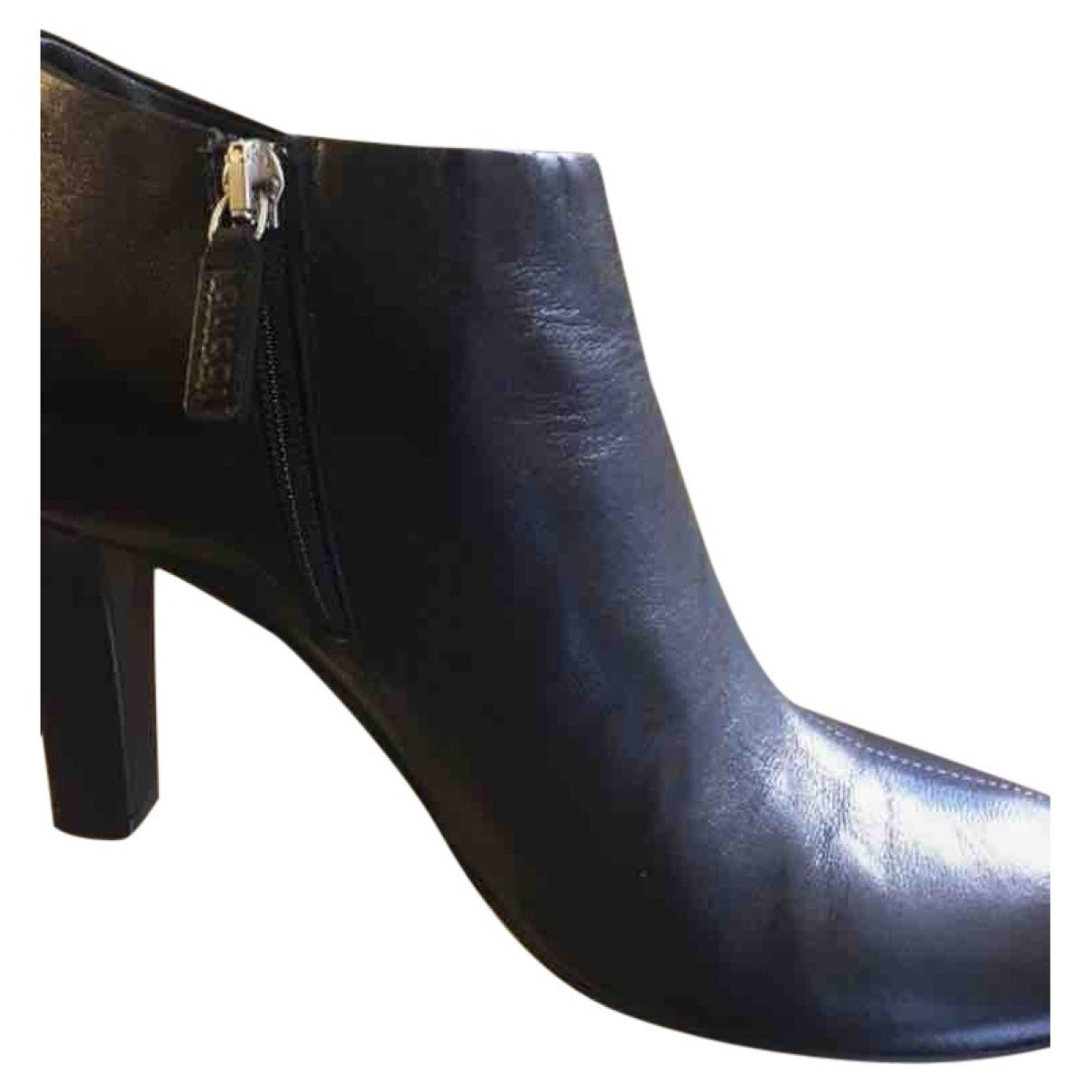 Gucci \N Black Leather Ankle boots for Women 36 EU