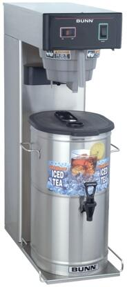36700.0009 TB3 29 Trunk Iced Tea Brewer With Adjustable Steep Time  SplashGard  in Stainless