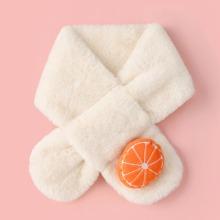 Kinder Schal mit Obst Dekor